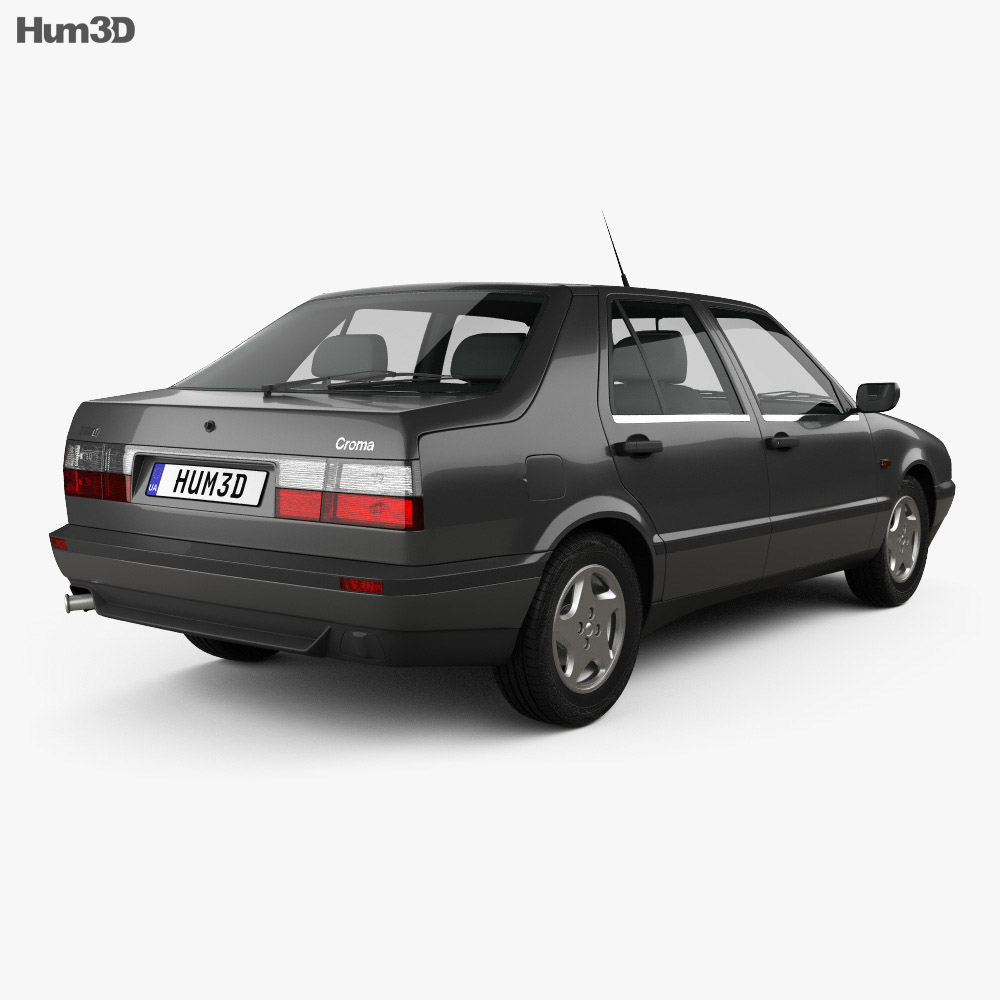Fiat Croma (154) 1993 3d model