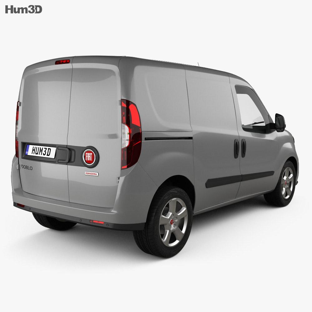 Fiat Doblo Cargo L1H1 2015 3d model