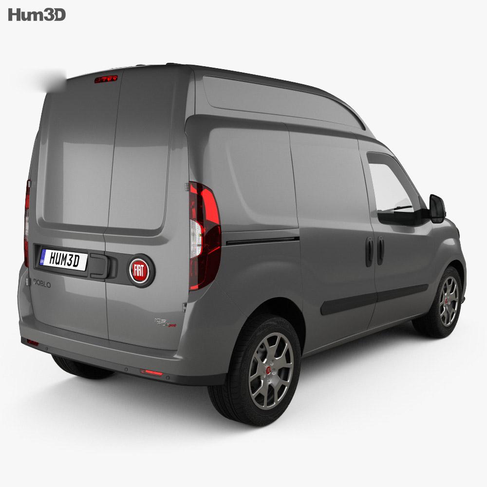 fiat doblo cargo l1h2 2015 3d model vehicles on hum3d. Black Bedroom Furniture Sets. Home Design Ideas
