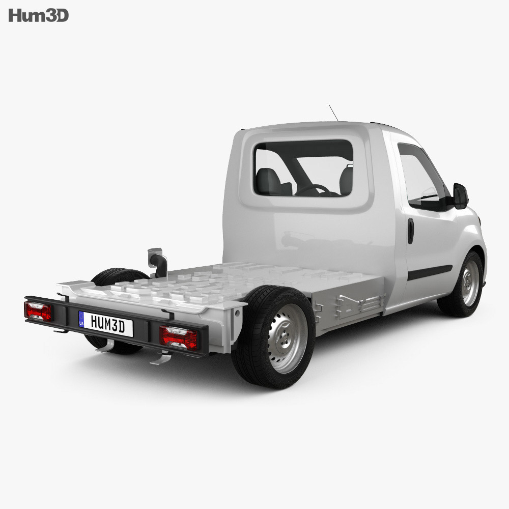 Fiat Doblo Chassis L2 2015 3d model