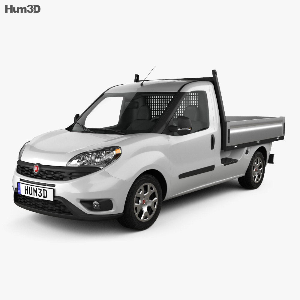 fiat doblo work up 2015 3d model vehicles on hum3d. Black Bedroom Furniture Sets. Home Design Ideas