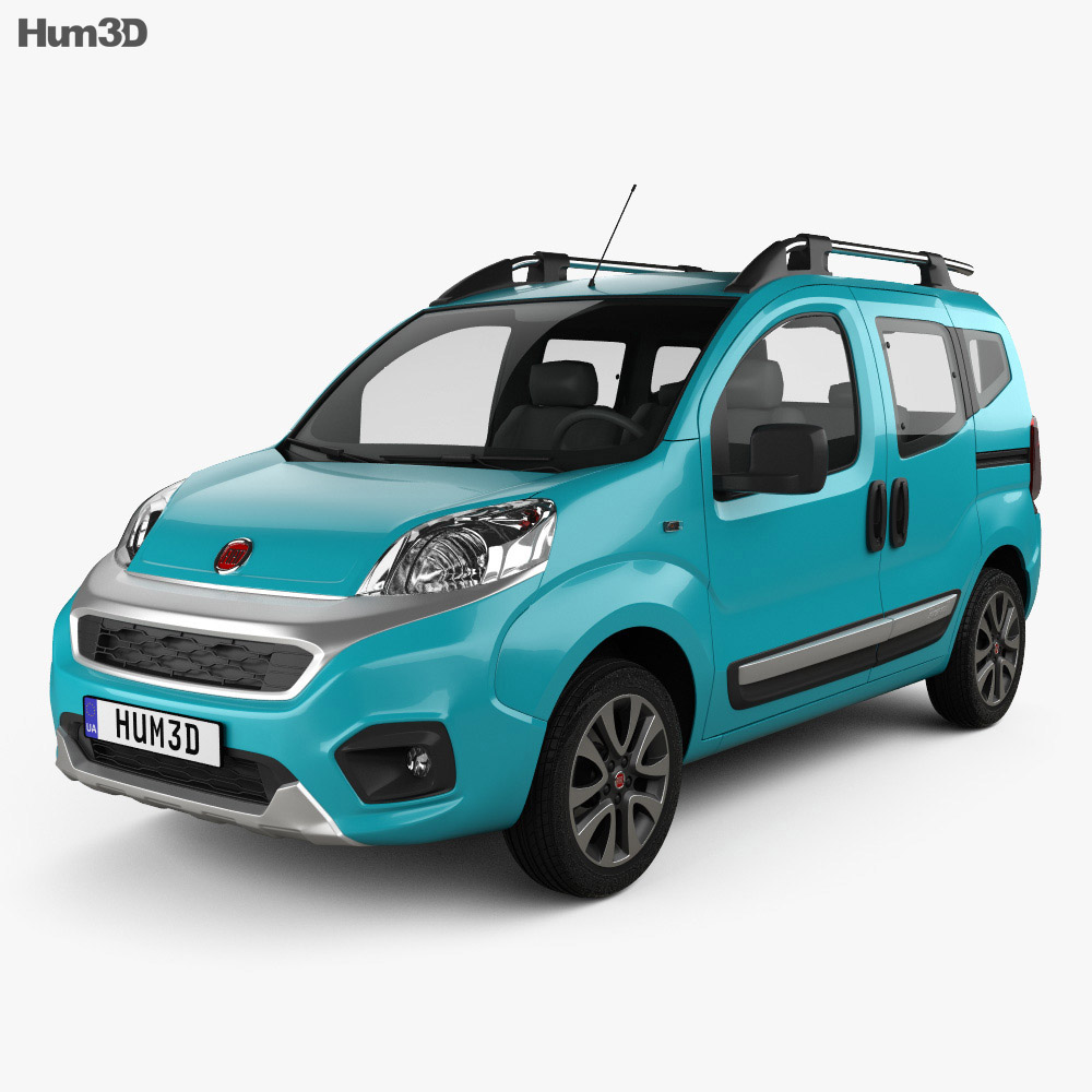 Discount Car Parts >> Fiat Fiorino Premio 2016 3D model - Hum3D