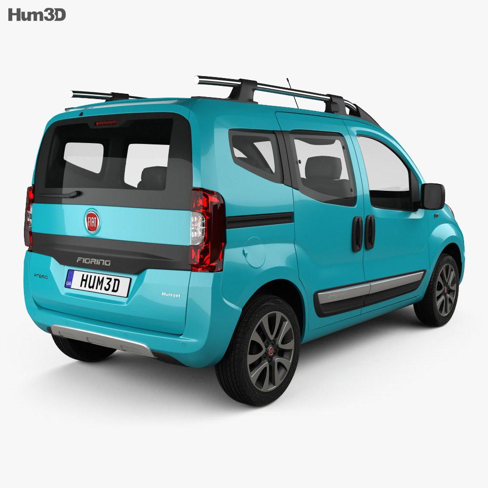 fiat fiorino premio 2016 3d model vehicles on hum3d. Black Bedroom Furniture Sets. Home Design Ideas