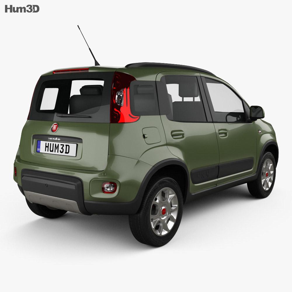 Fiat Panda 4×4 2012 3d model