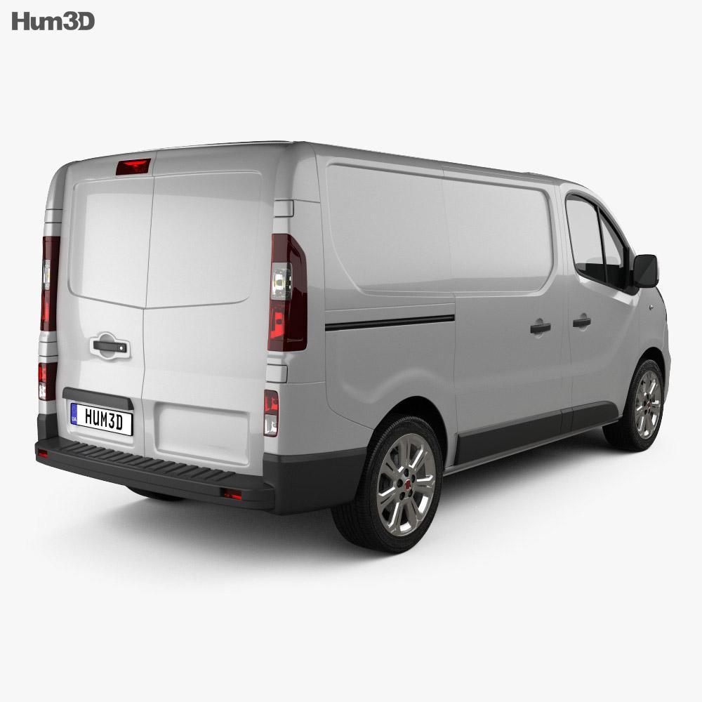 Fiat Talento Panel Van 2016 3d model
