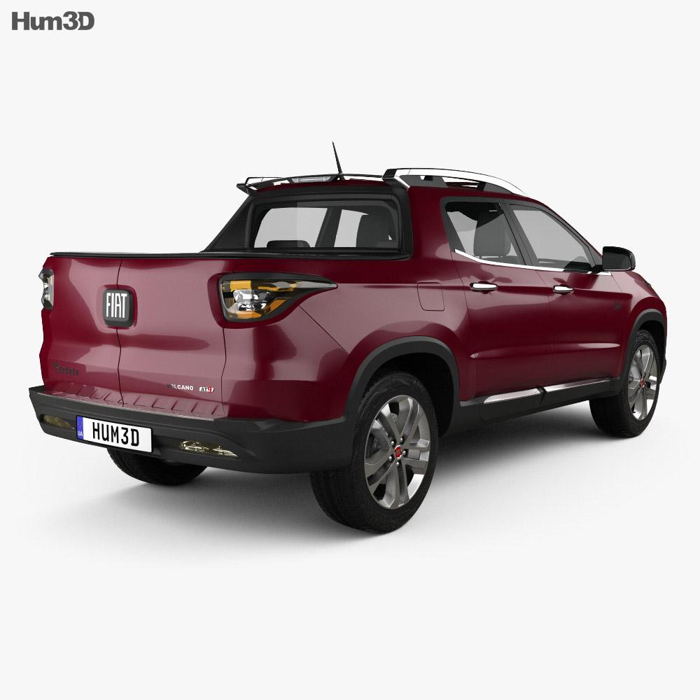 Fiat Toro 2016 3d model