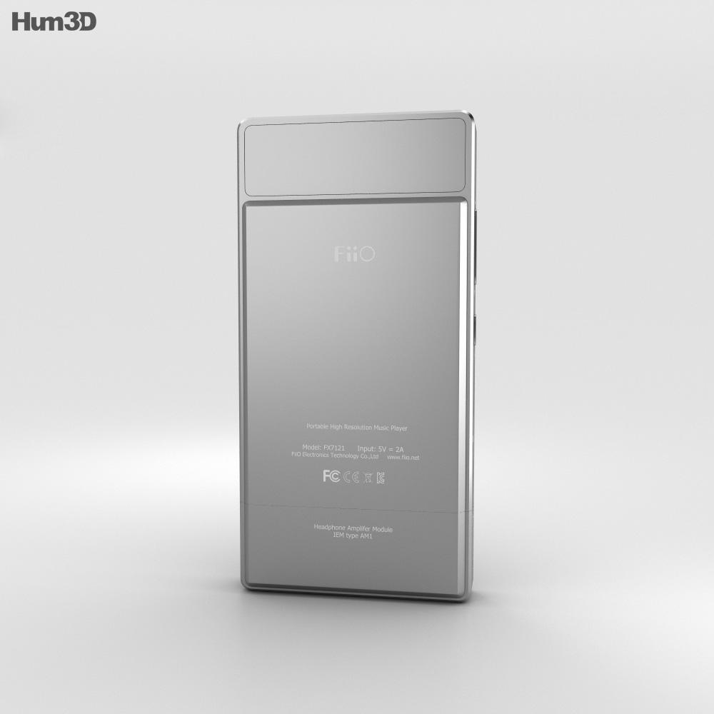 FiiO X7 3d model