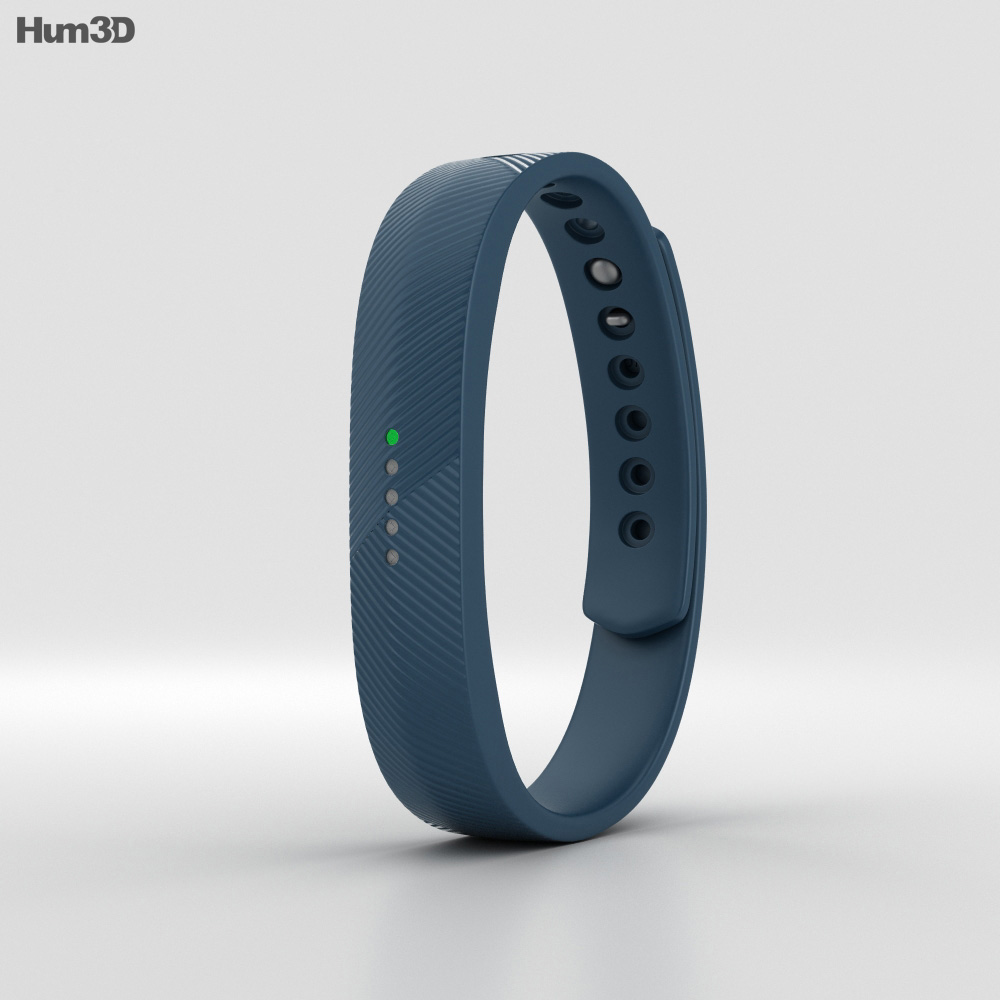 Fitbit Flex 2 Navy 3d model