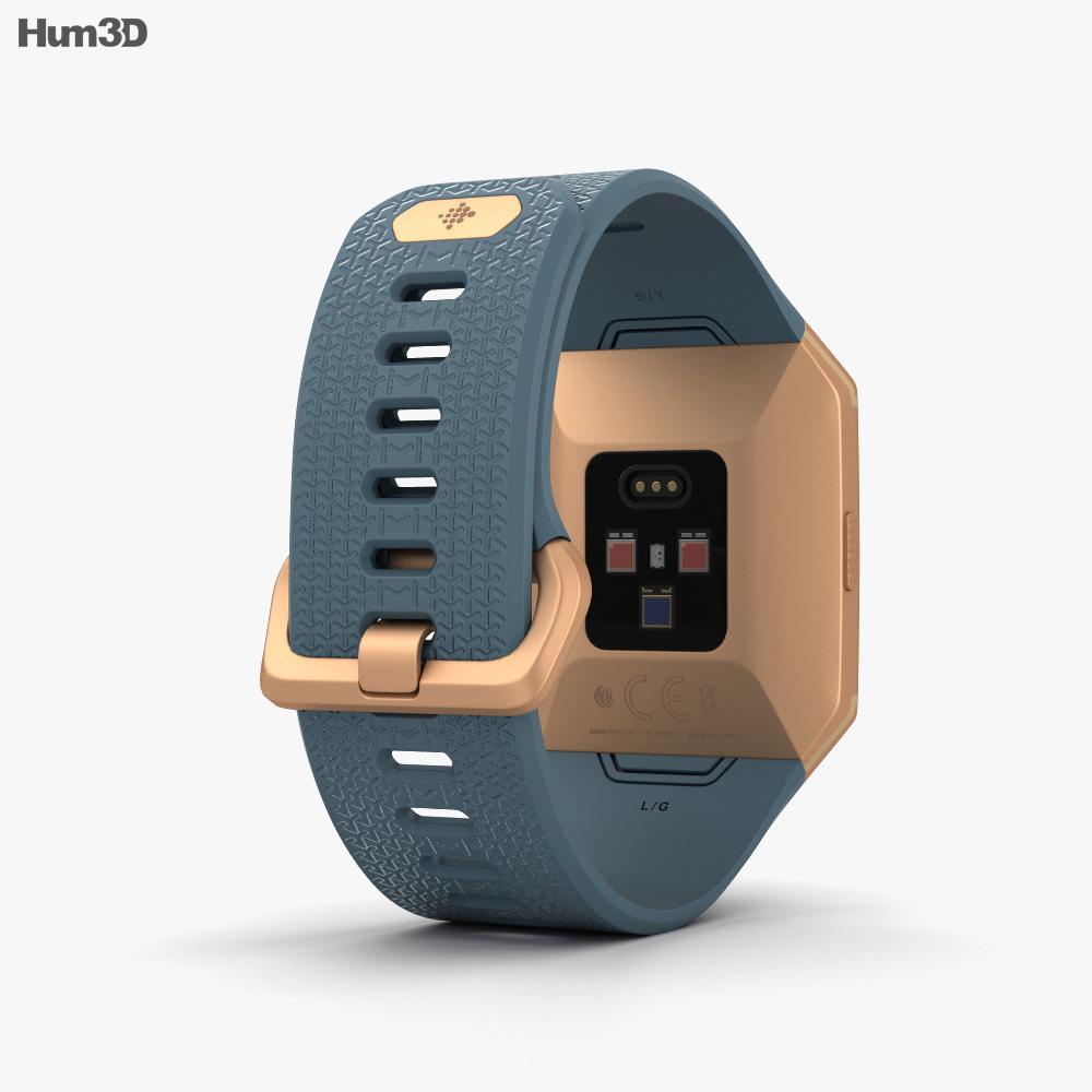 Fitbit Ionic Burnt Orange 3d model