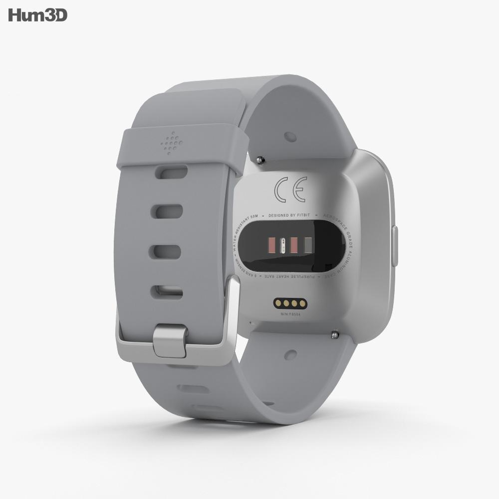 Fitbit Versa Gray 3d model