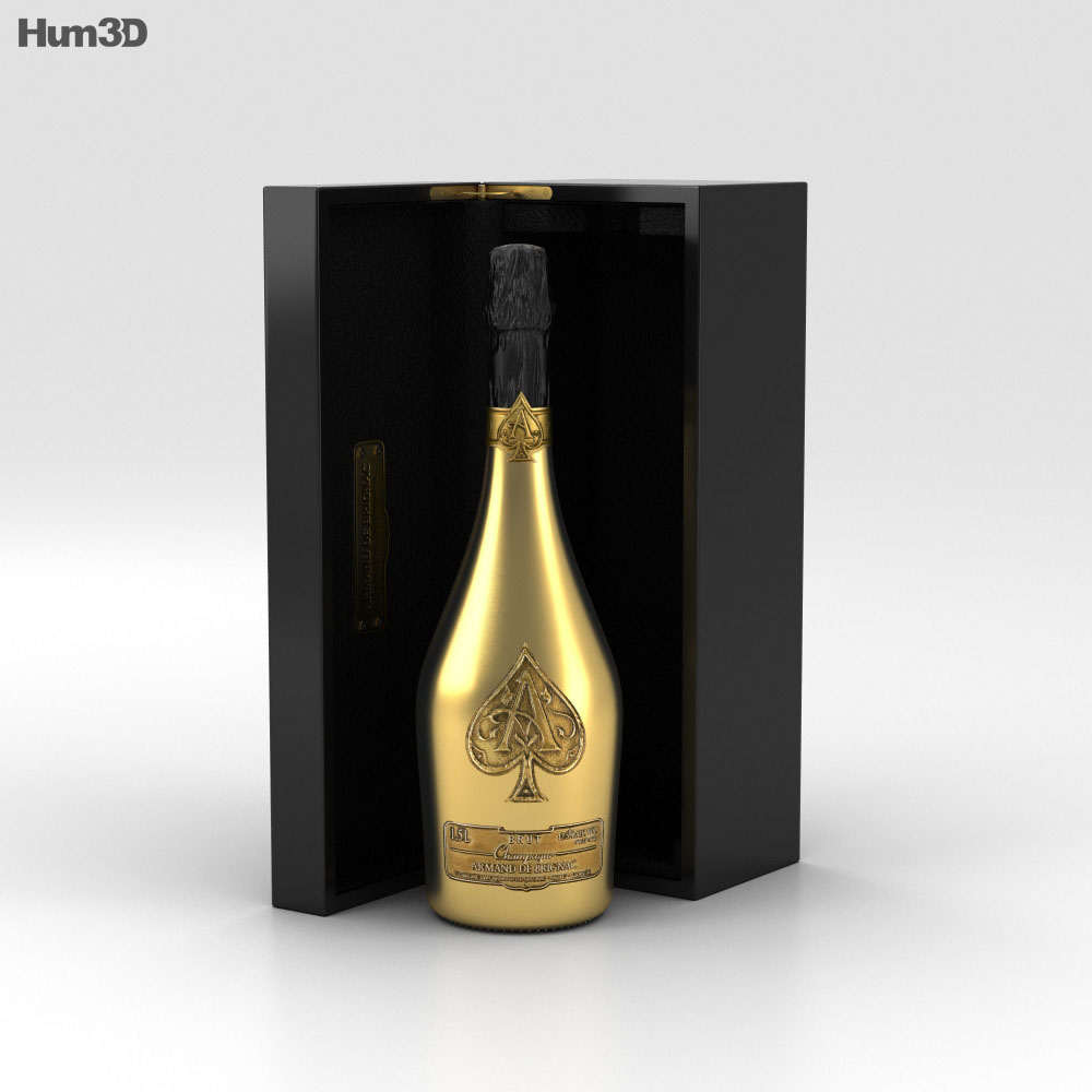 Ace of Spades Champagne 3d model