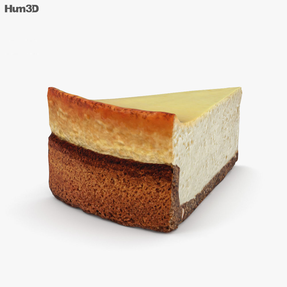 Cheesecake 3d model