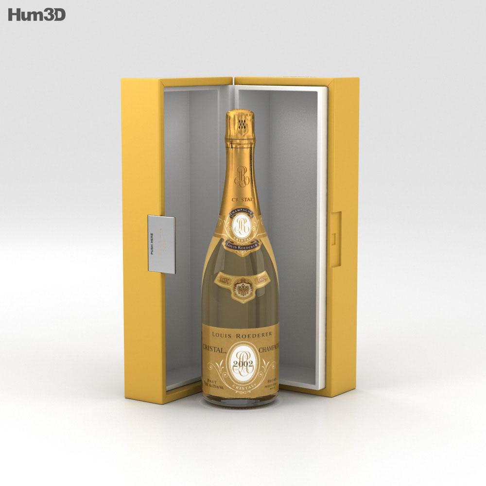 Cristal Champagne 3d model