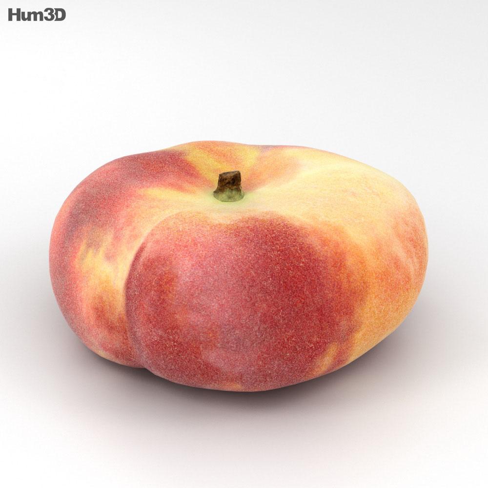 Saturn Peach 3d model
