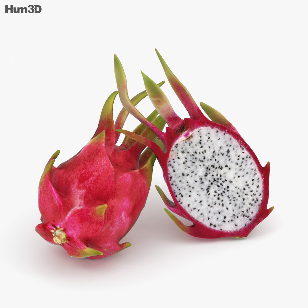 Dragon Fruit 3D model - Food on Hum3D 2e560fa15