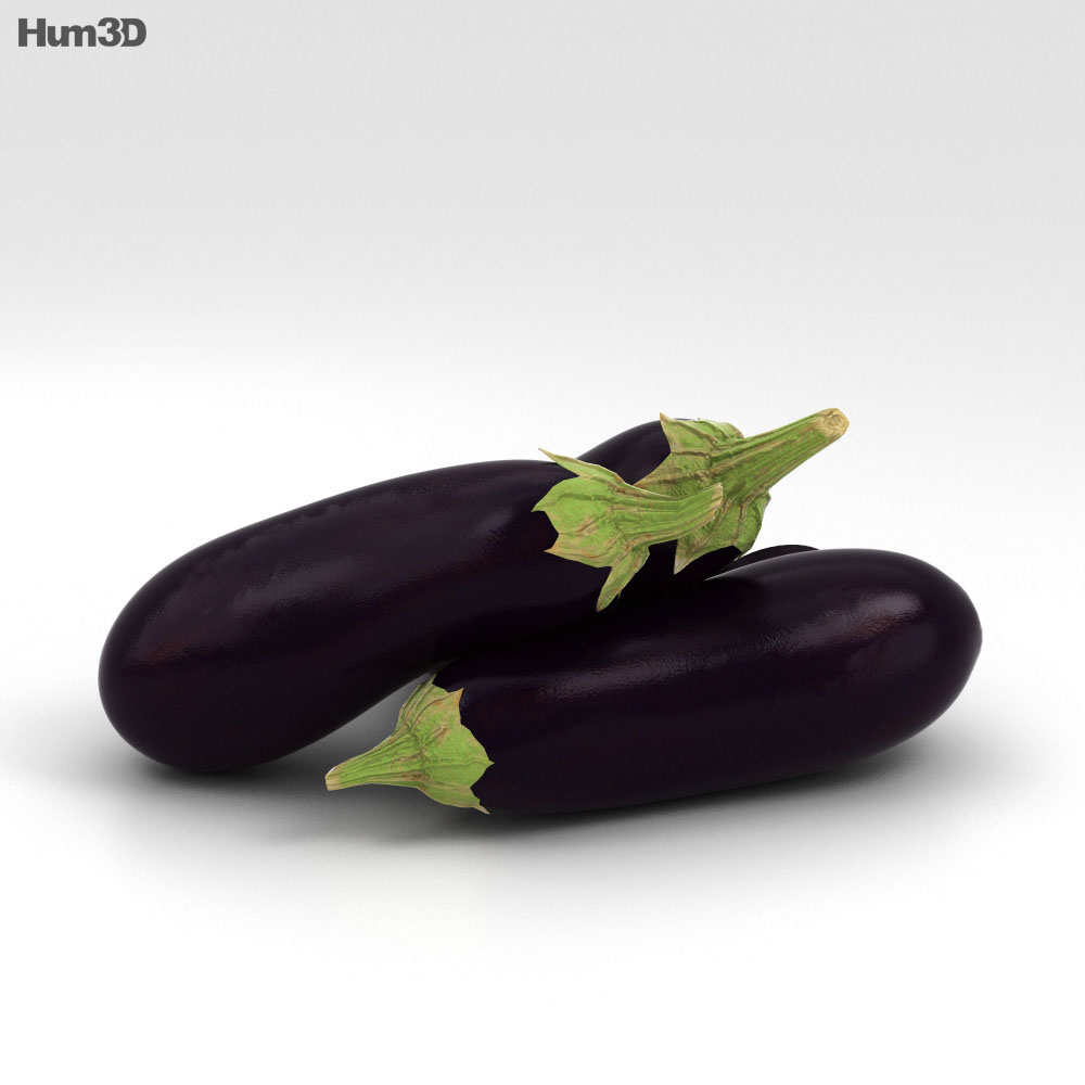 Eggplant 3d model