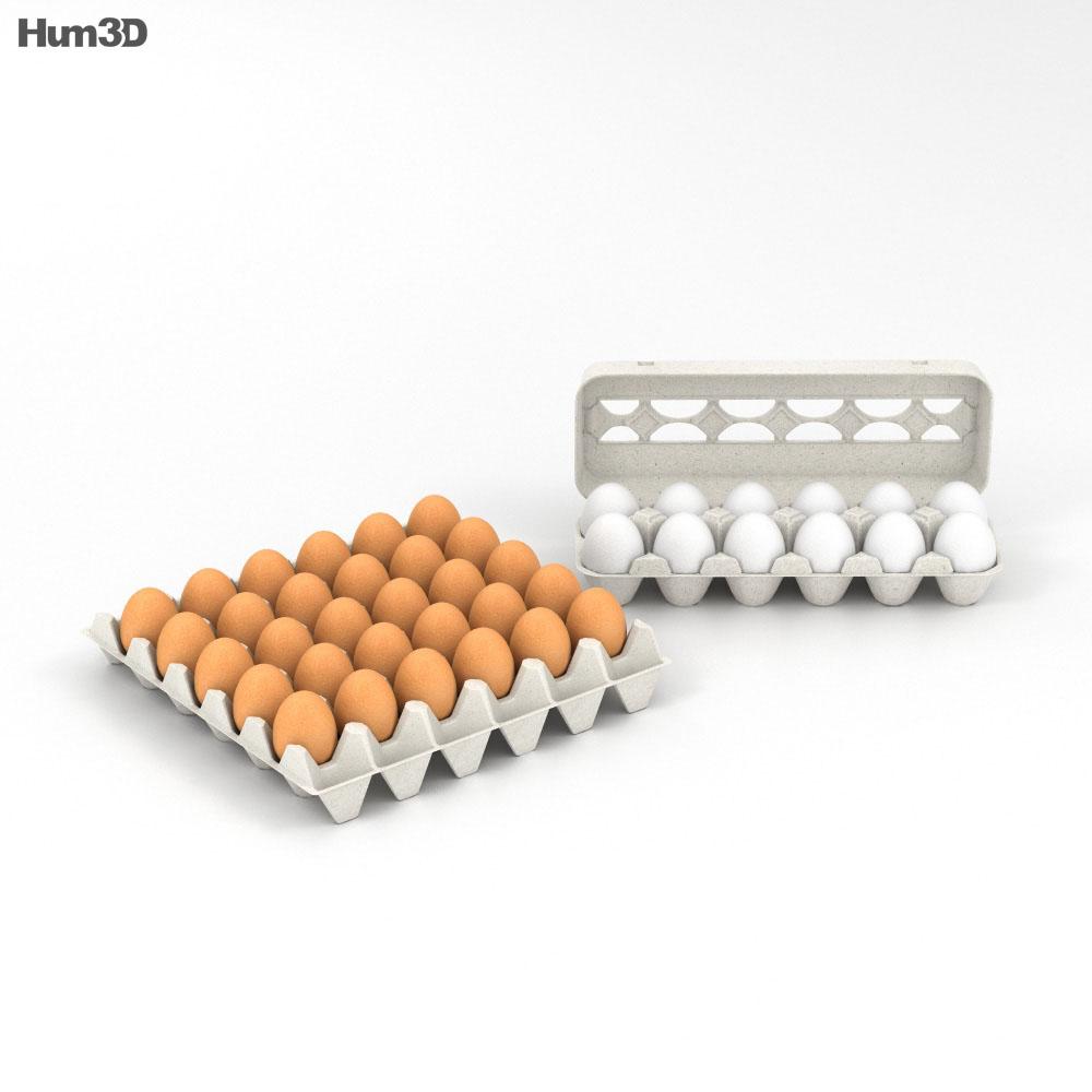 Eggs 3d model