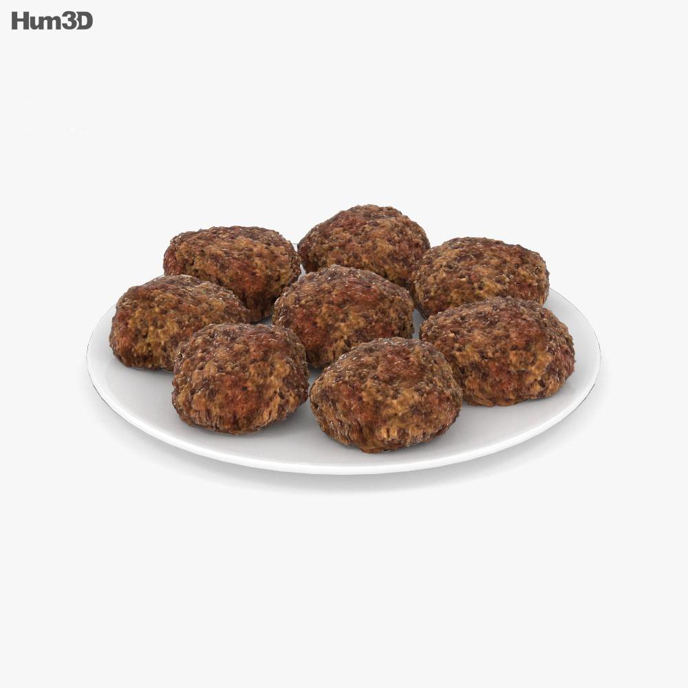 Falafel 3d model