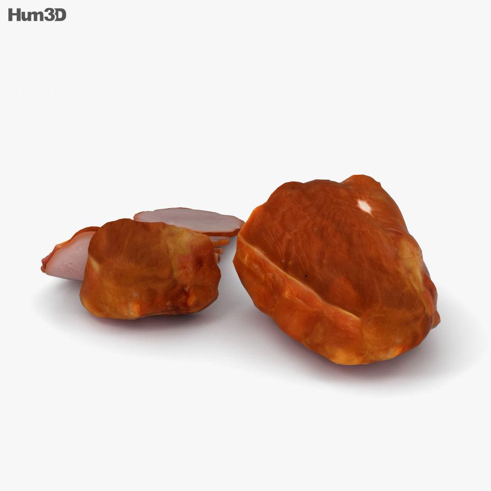 Ham 3d model