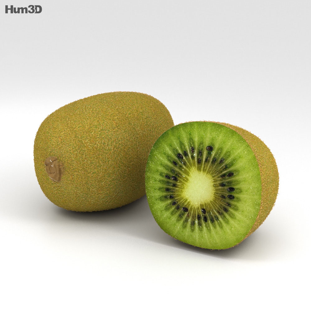 Kiwifruit 3d model