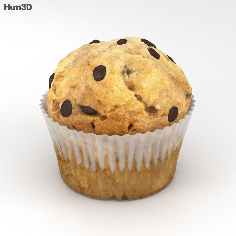 Muffin 3d model