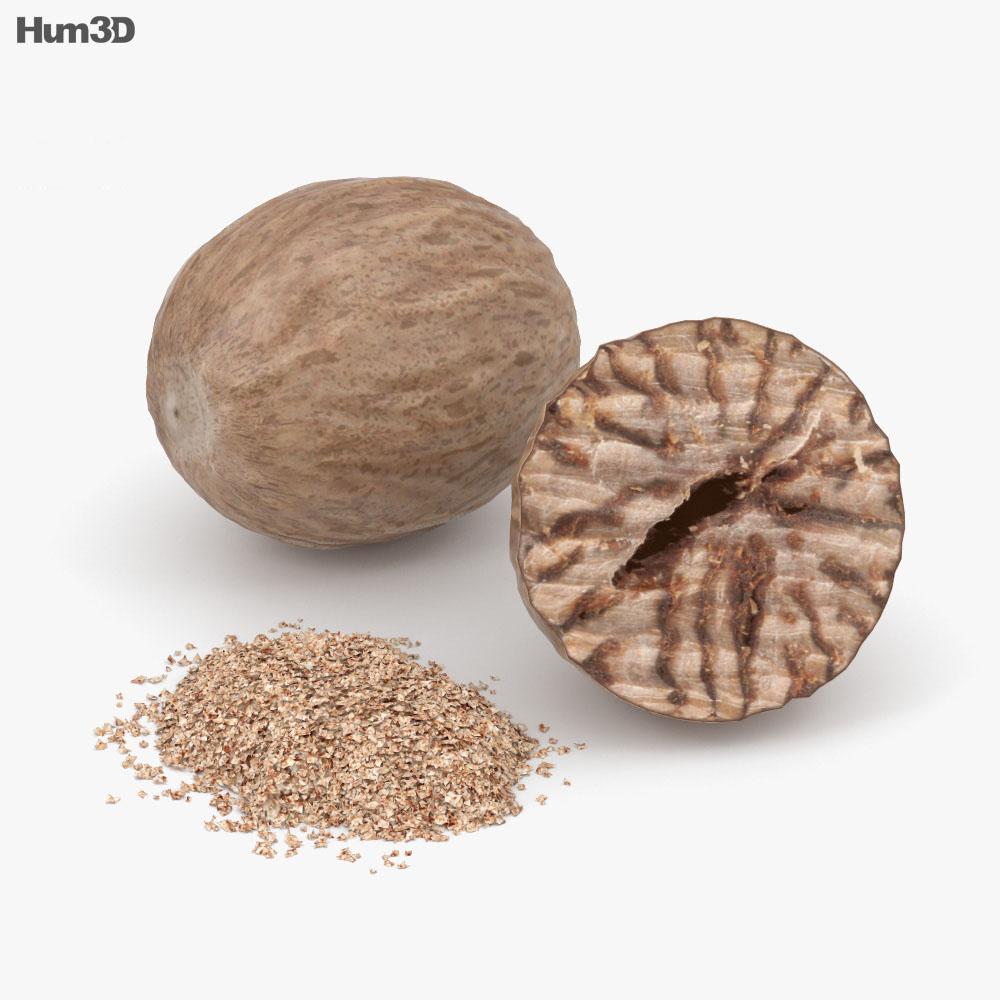 3D model of Nutmeg