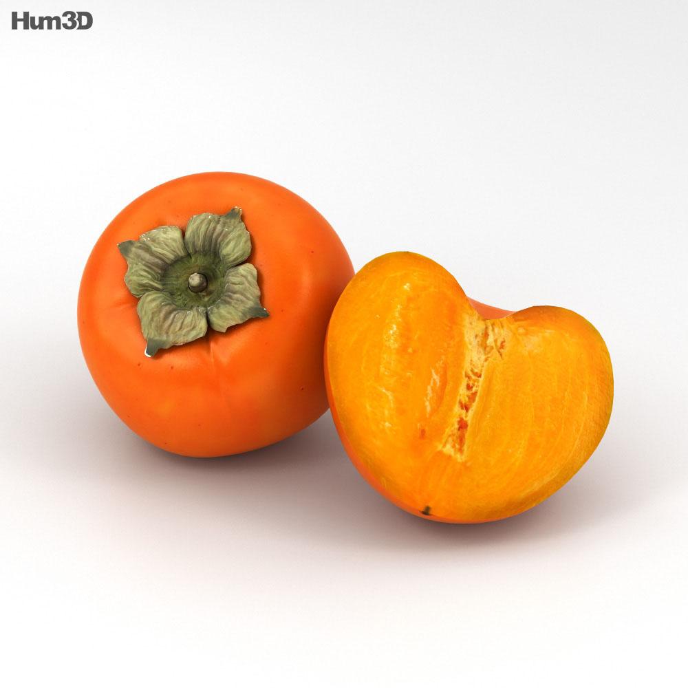 Persimmon 3d model