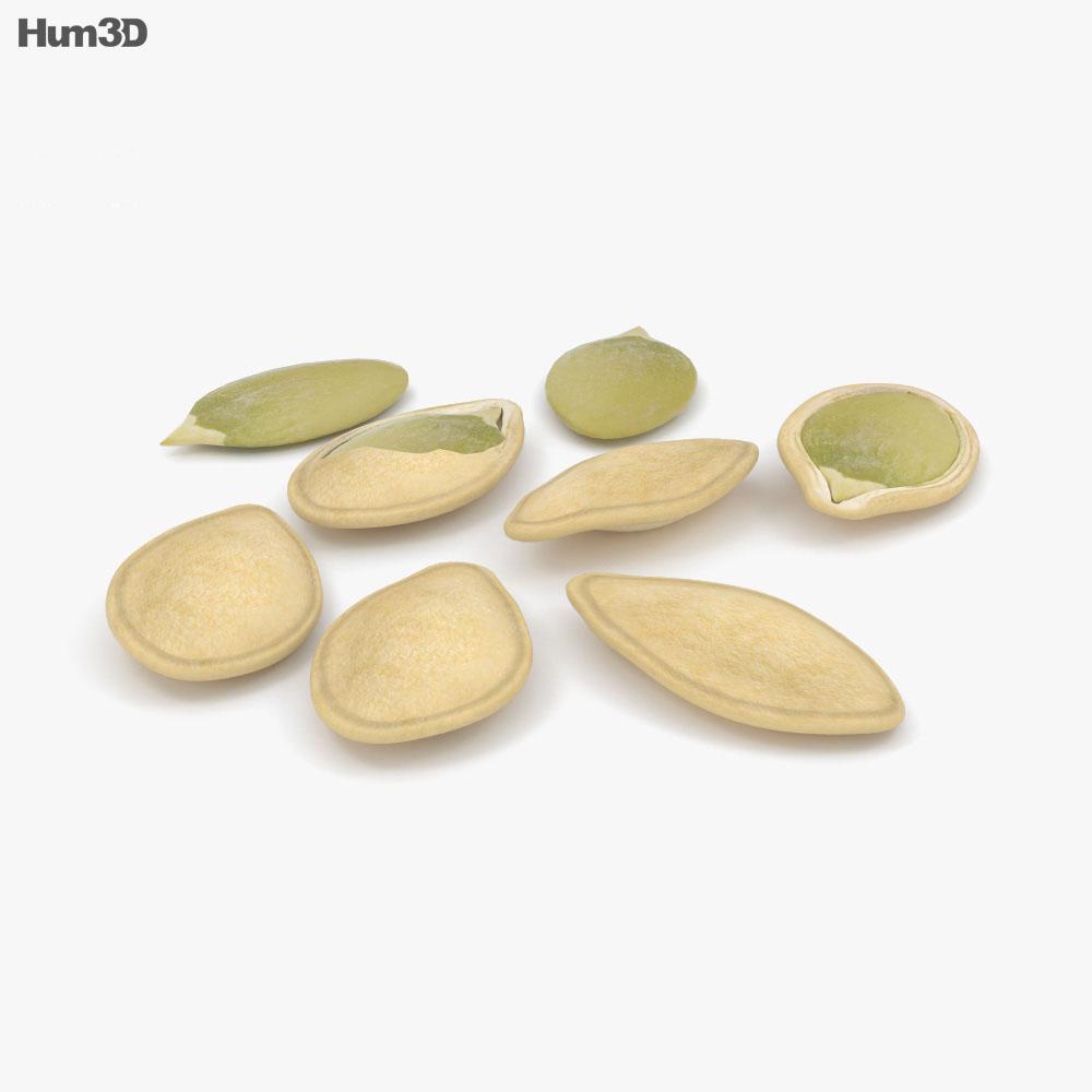 Pumpkin Seeds 3d model