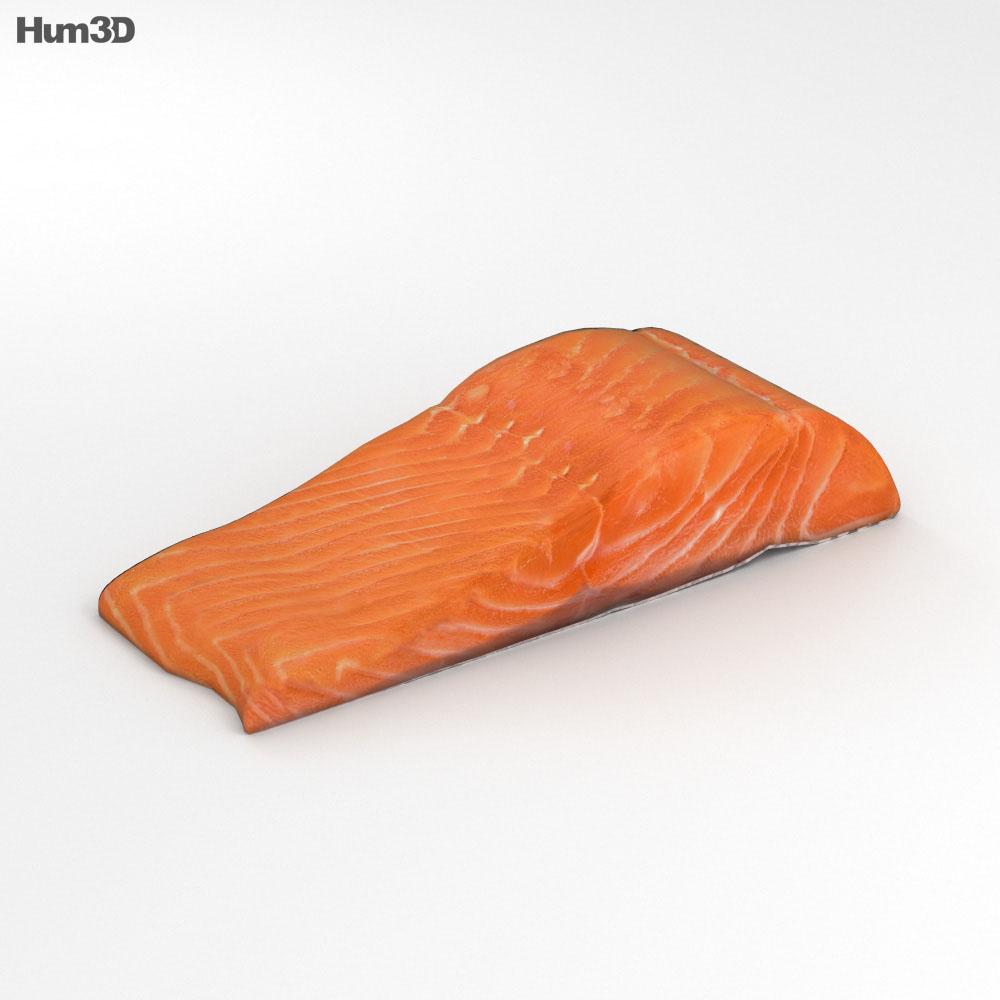 Salmon Fillet 3d model