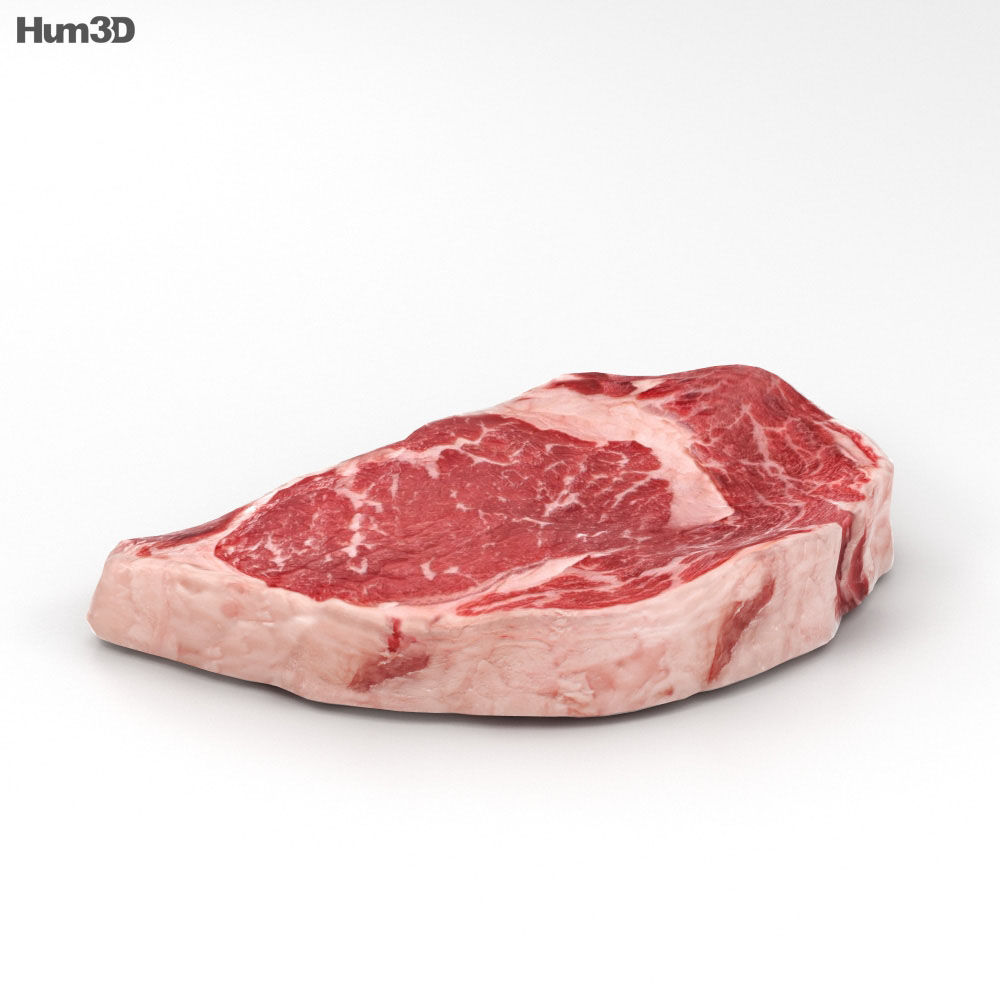 3D model of Steak