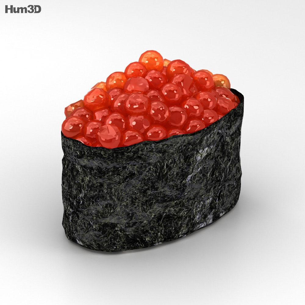 Sushi Ikura 3d model