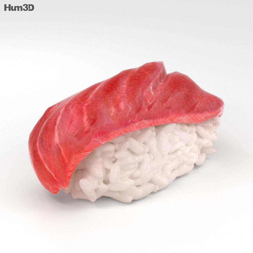 Sushi Toro 3d model