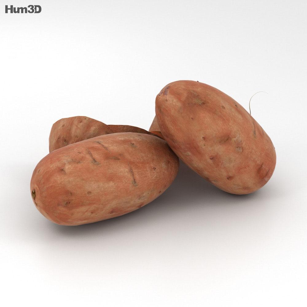 Sweet Potato 3d model