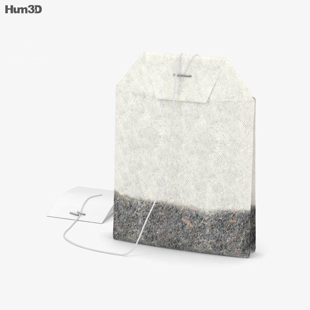 Tea Bag 3d model