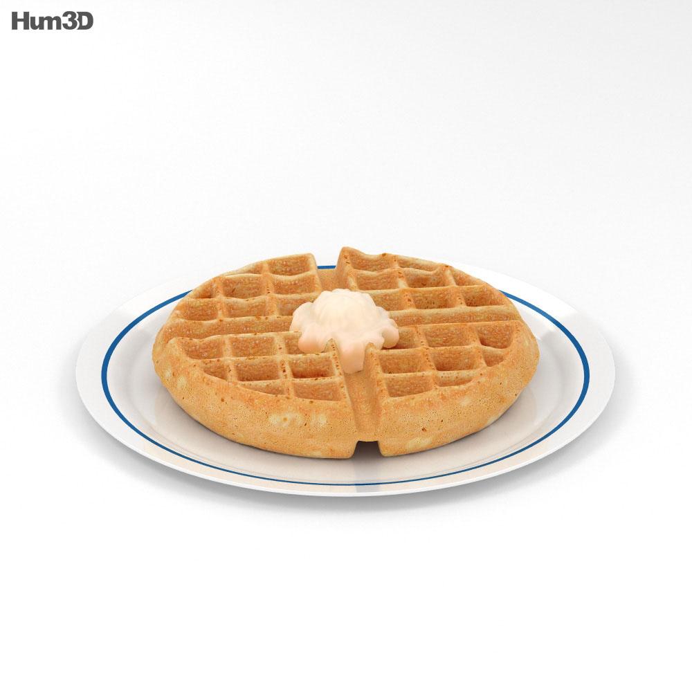 Waffle 3d model