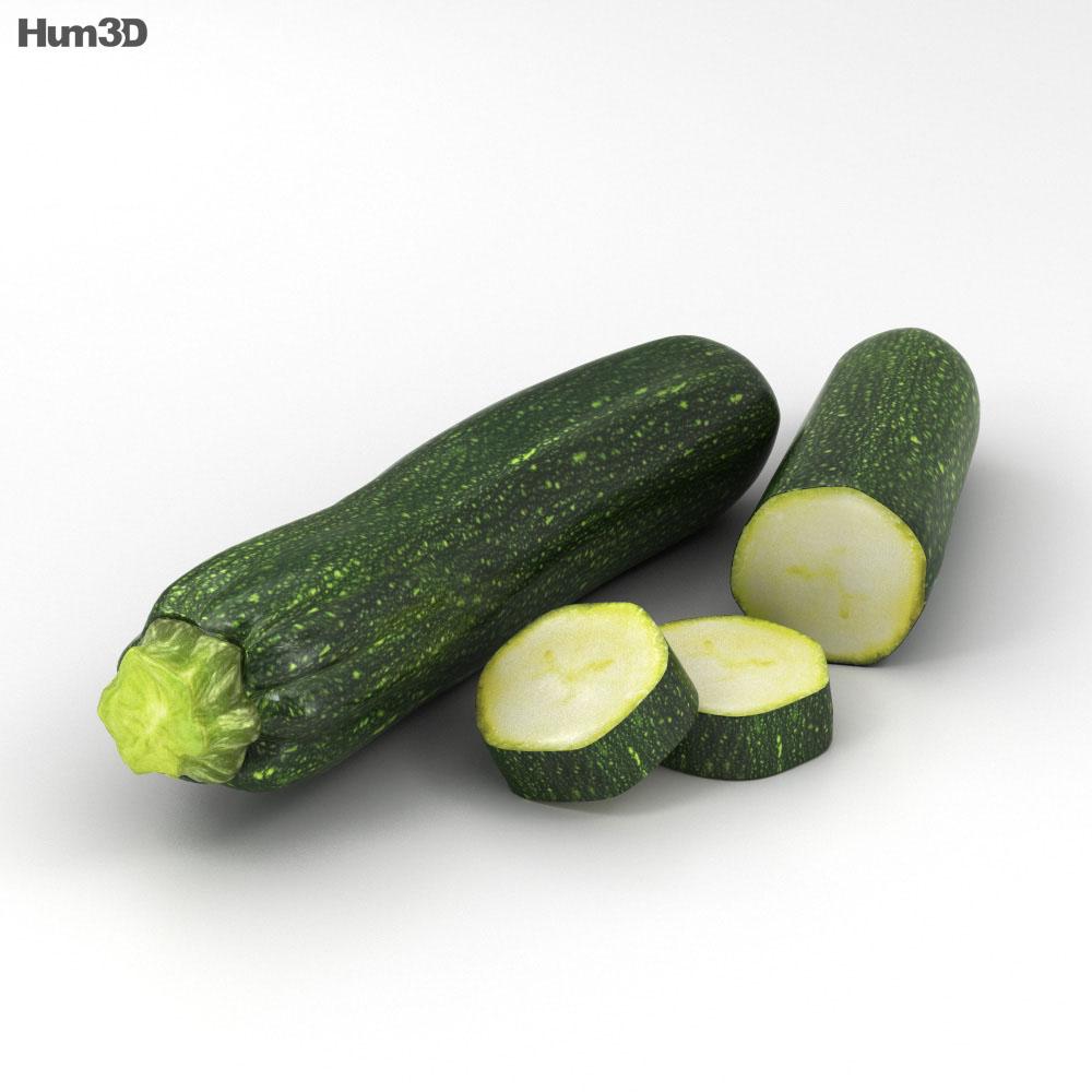 Zucchini 3d model
