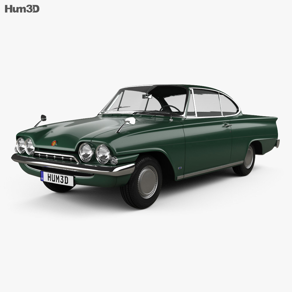 Ford Consul Capri 1961 3d model