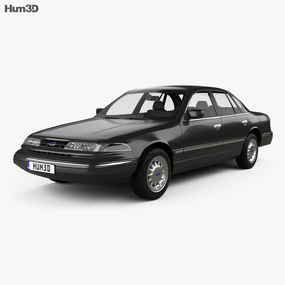 Ford Crown Victoria 1995 3d model