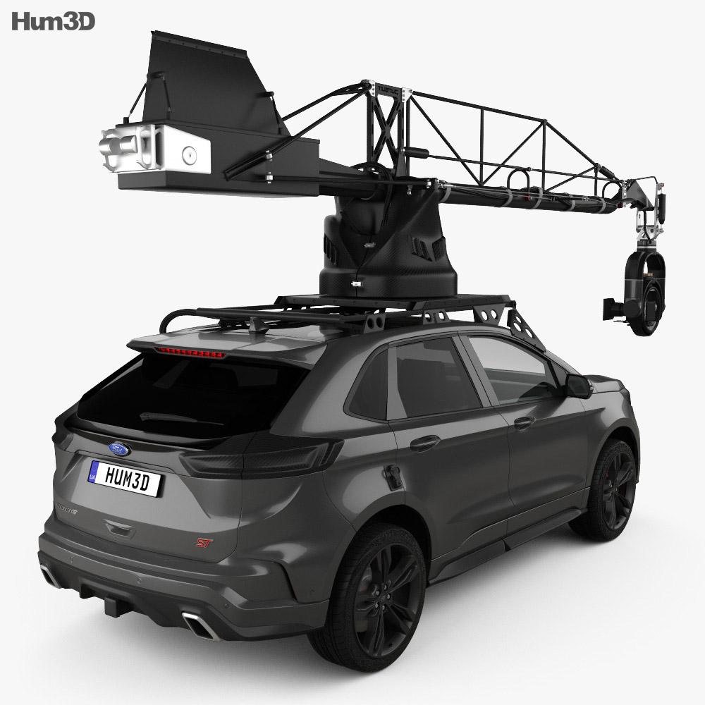 Ford Edge ST Camera Car 2019 3d model