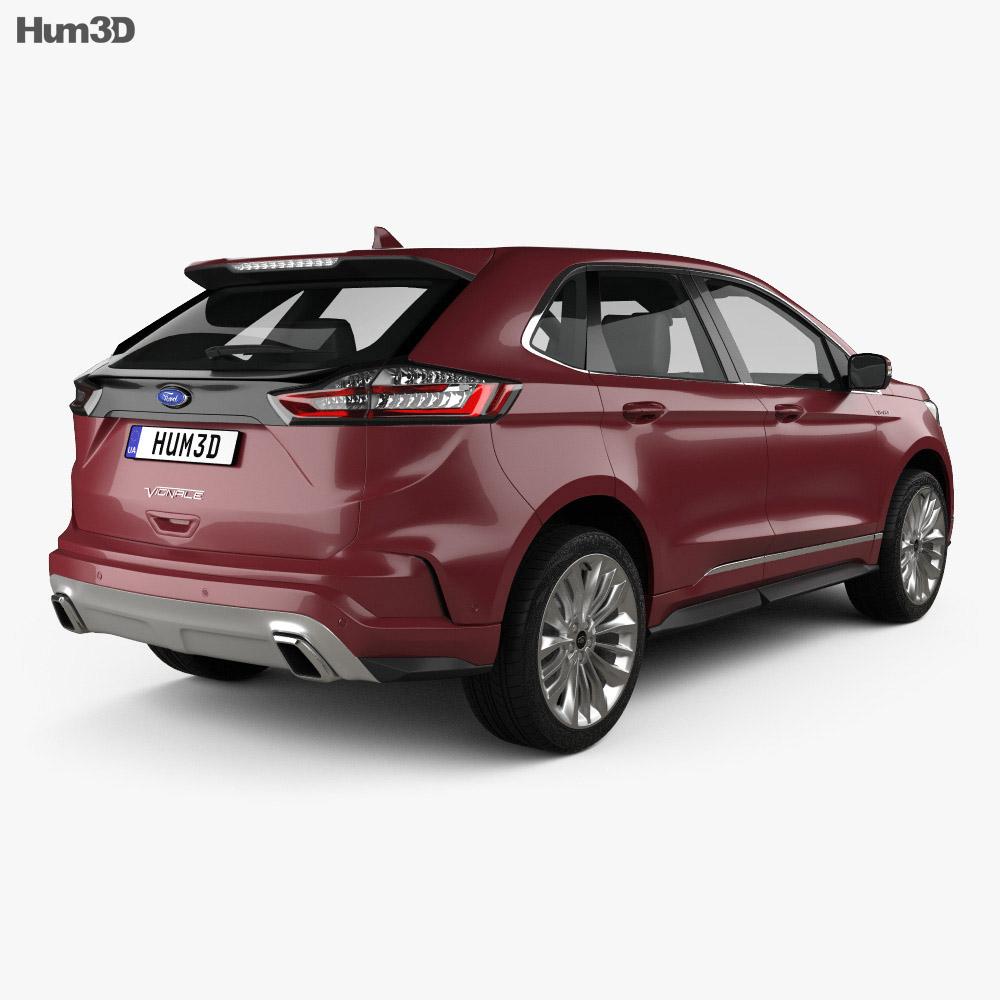 Ford Edge Vignale 2019 3d model