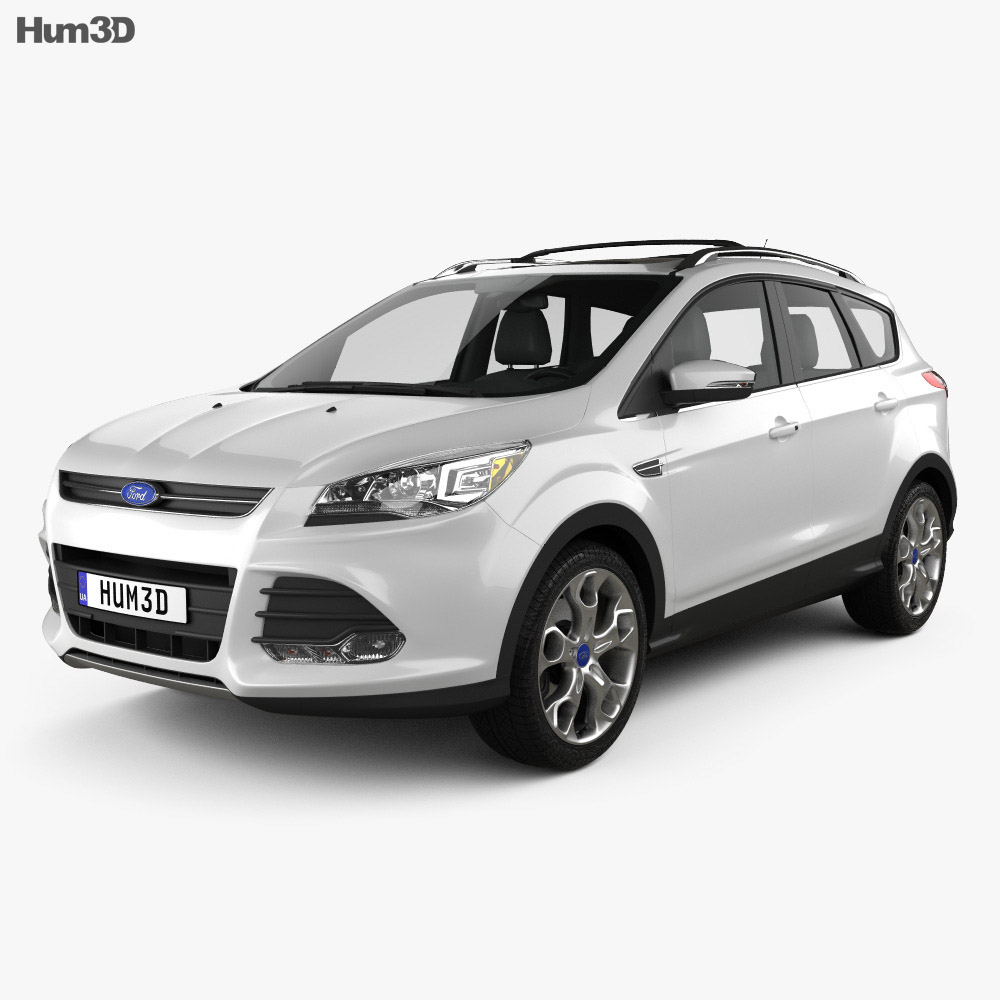 Ford Escape (Kuga) 2013 3d model