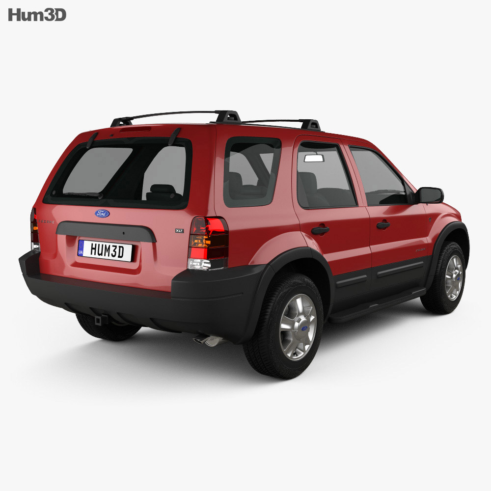 Ford Escape XLT 2001 3d model