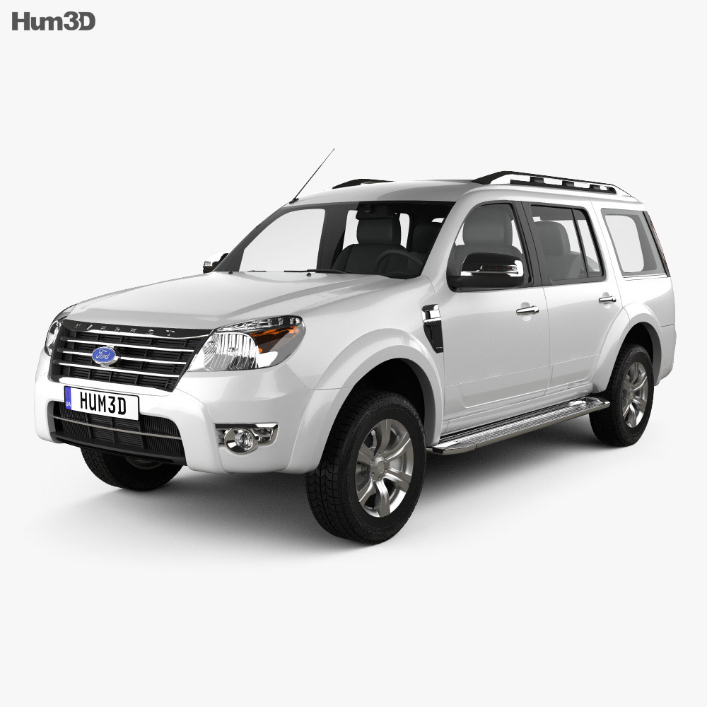 Ford Everest 2012 3d model