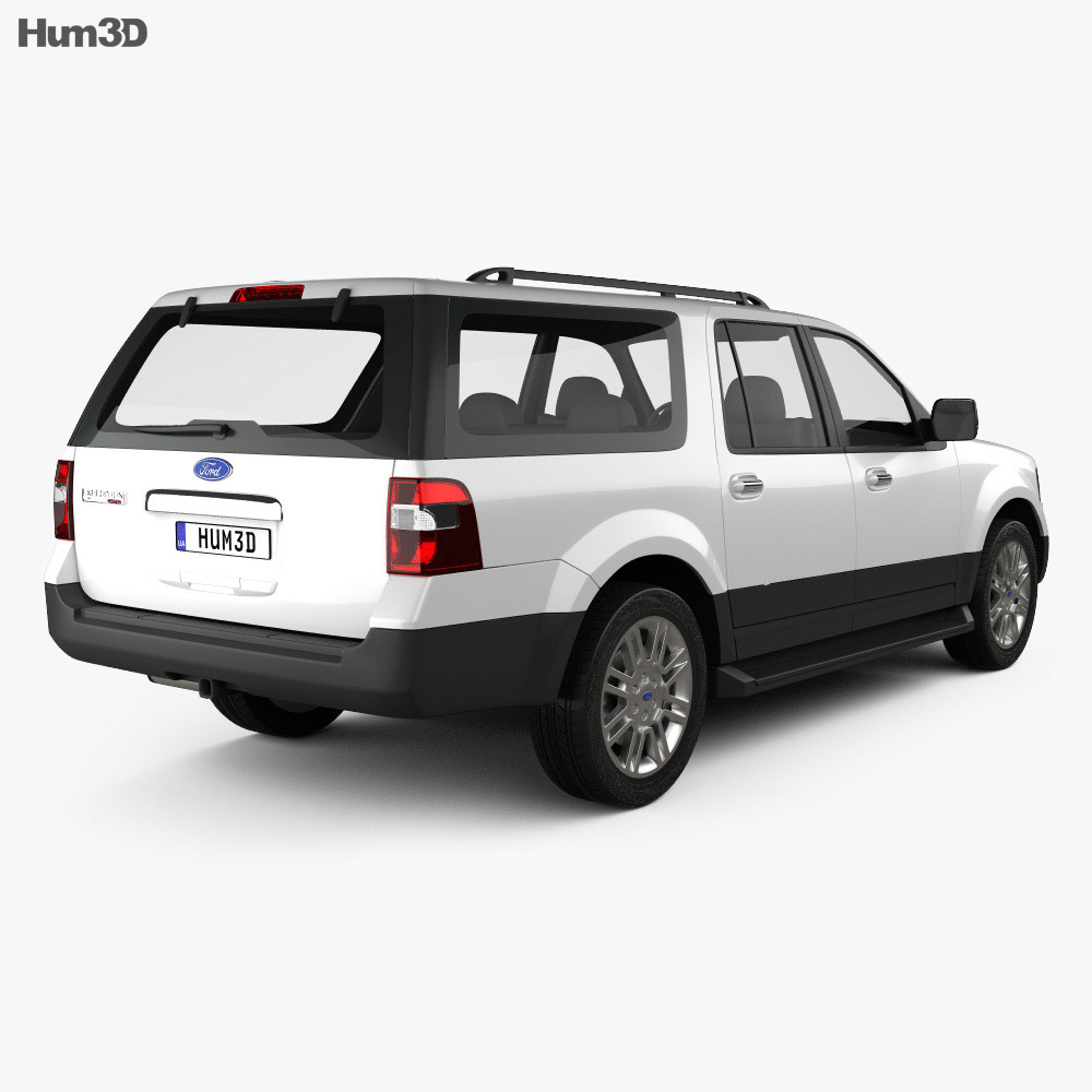 Ford Expedition 2012 3d model