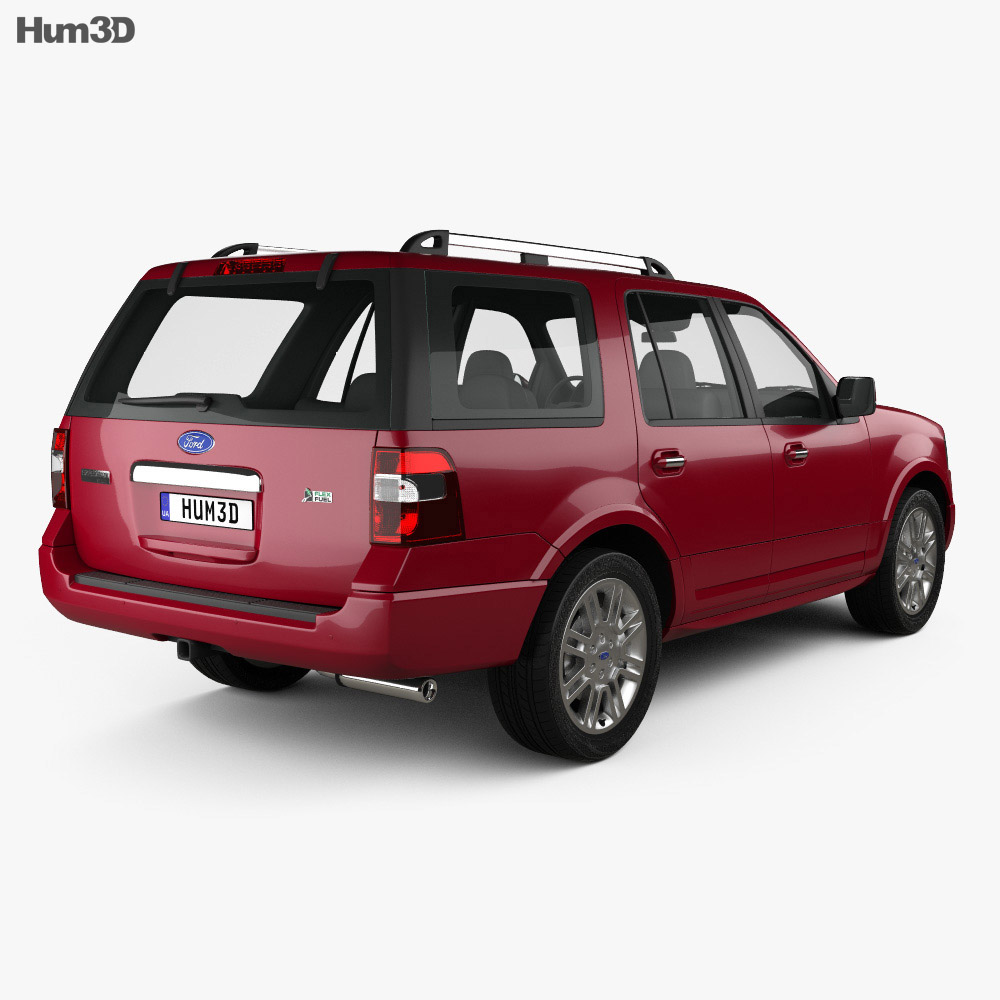 Ford Expedition Limited 2007 3d model