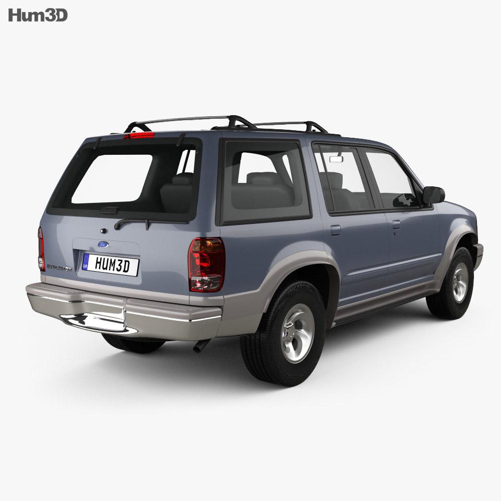 Ford Explorer 1994 3d model