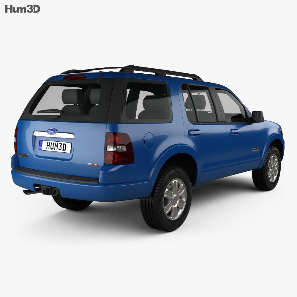 Ford Explorer 2006 3d model