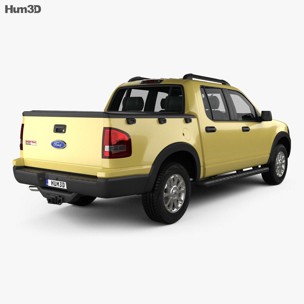 Ford Explorer Sport Trac 2006 3d model