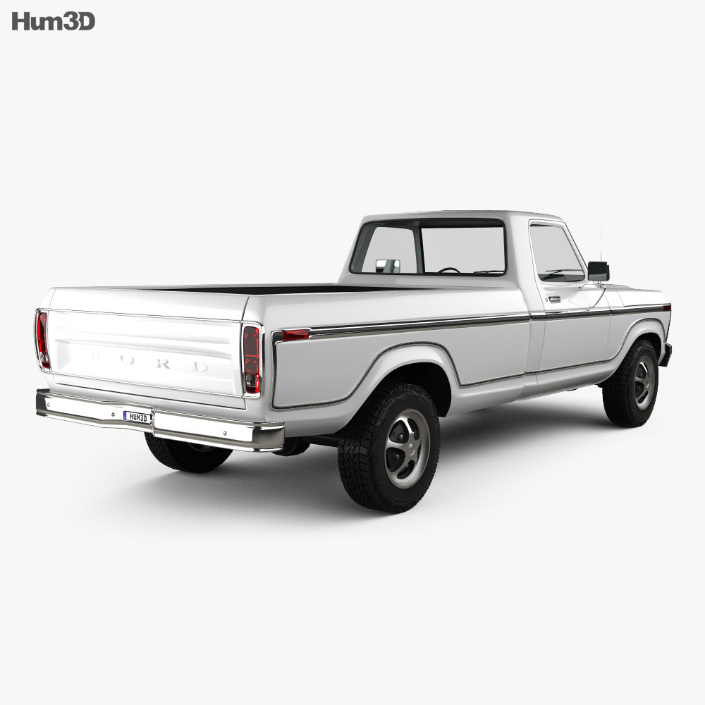 Ford F-150 1973 3d model