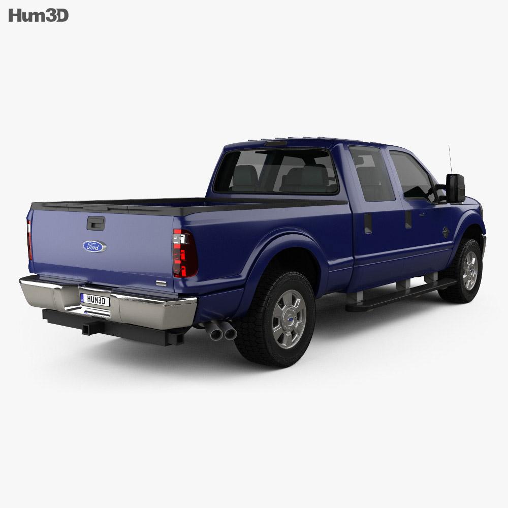 Ford Super Duty Crew Cab 2011 3d model